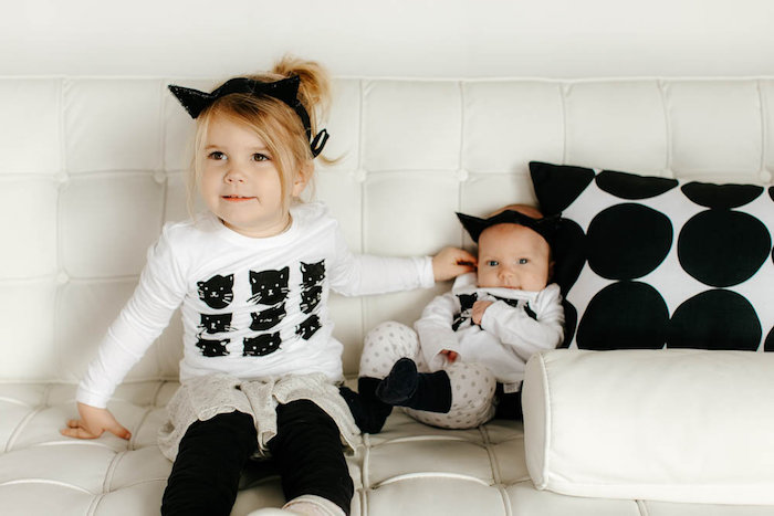Black & White Kitty Birthday Party on Kara's Party Ideas | KarasPartyIdeas.com (5)