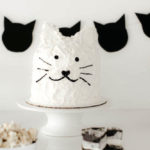 Black & White Kitty Birthday Party on Kara's Party Ideas | KarasPartyIdeas.com (2)