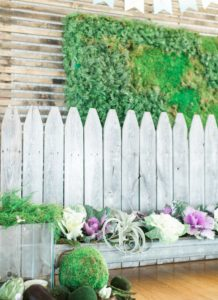 Picket fence & garden box backdrop from a Celebrate Spring Party on Kara's Party Ideas | KarasPartyIdeas.com (48)
