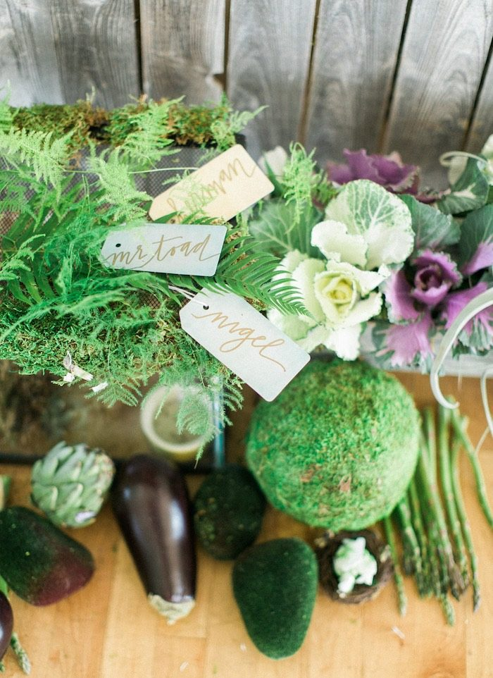 Greenery from a Celebrate Spring Party on Kara's Party Ideas | KarasPartyIdeas.com (46)