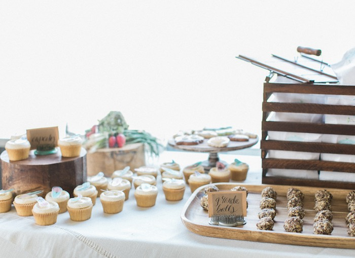 Dessert spread from a Celebrate Spring Party on Kara's Party Ideas | KarasPartyIdeas.com (32)