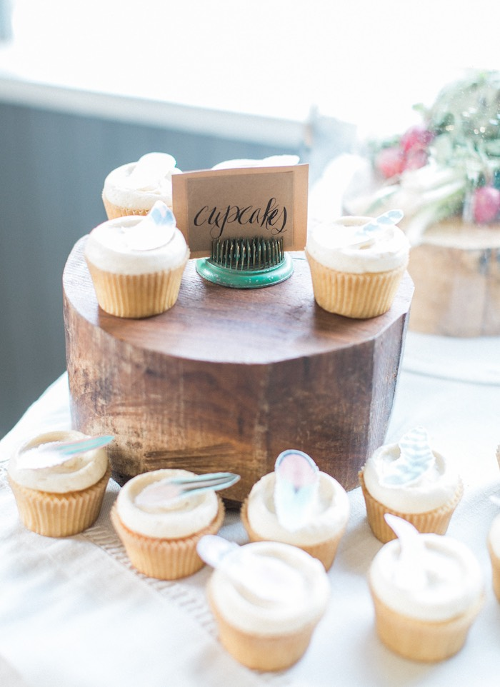 Cupcakes from a Celebrate Spring Party on Kara's Party Ideas | KarasPartyIdeas.com (24)