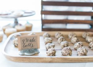 Granola balls from a Celebrate Spring Party on Kara's Party Ideas | KarasPartyIdeas.com (22)