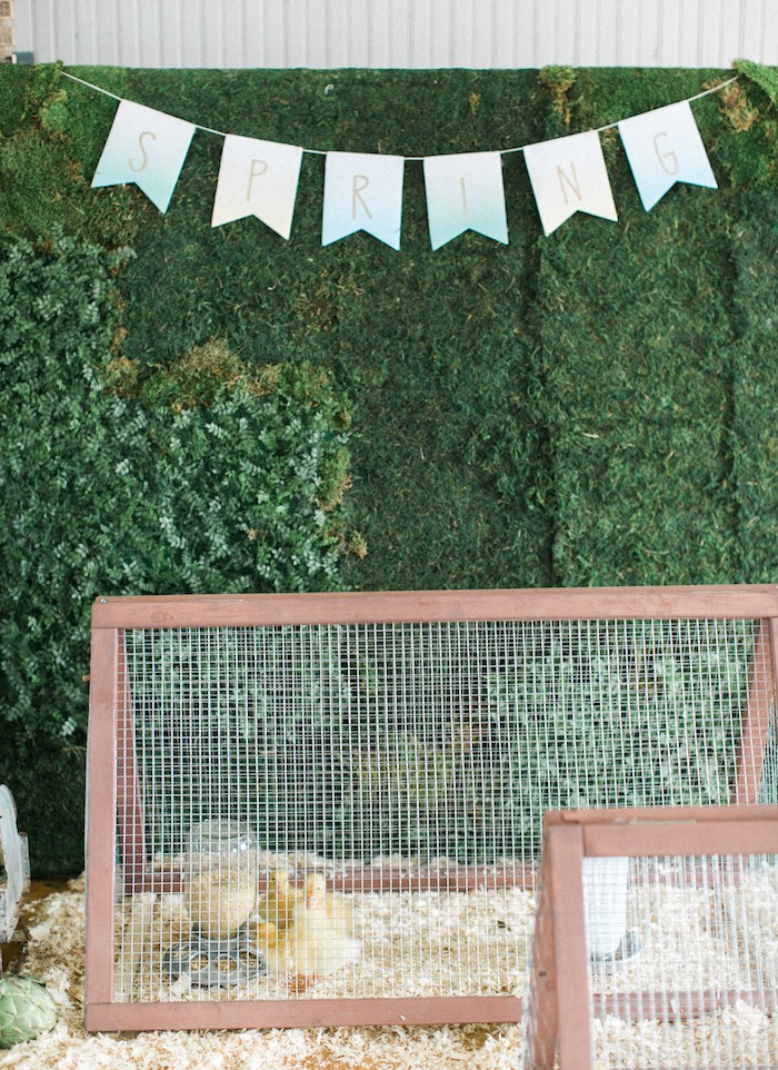 Spring banner from a Celebrate Spring Party on Kara's Party Ideas | KarasPartyIdeas.com (58)