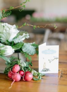 Thank you card + garden box centerpiece from a Celebrate Spring Party on Kara's Party Ideas | KarasPartyIdeas.com (57)