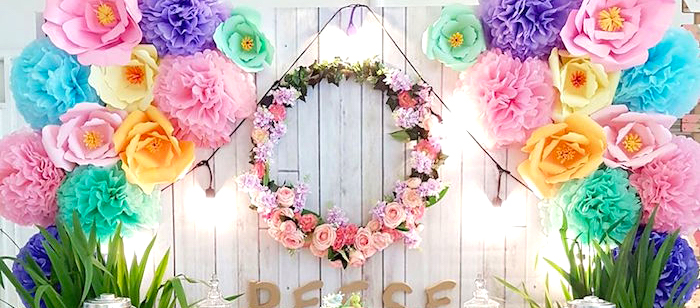 Coachella Music & Arts Festival Inspired Birthday Party on Kara's Party Ideas | KarasPartyIdeas.com (3)
