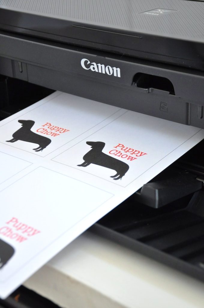 dog printables for bulldog party