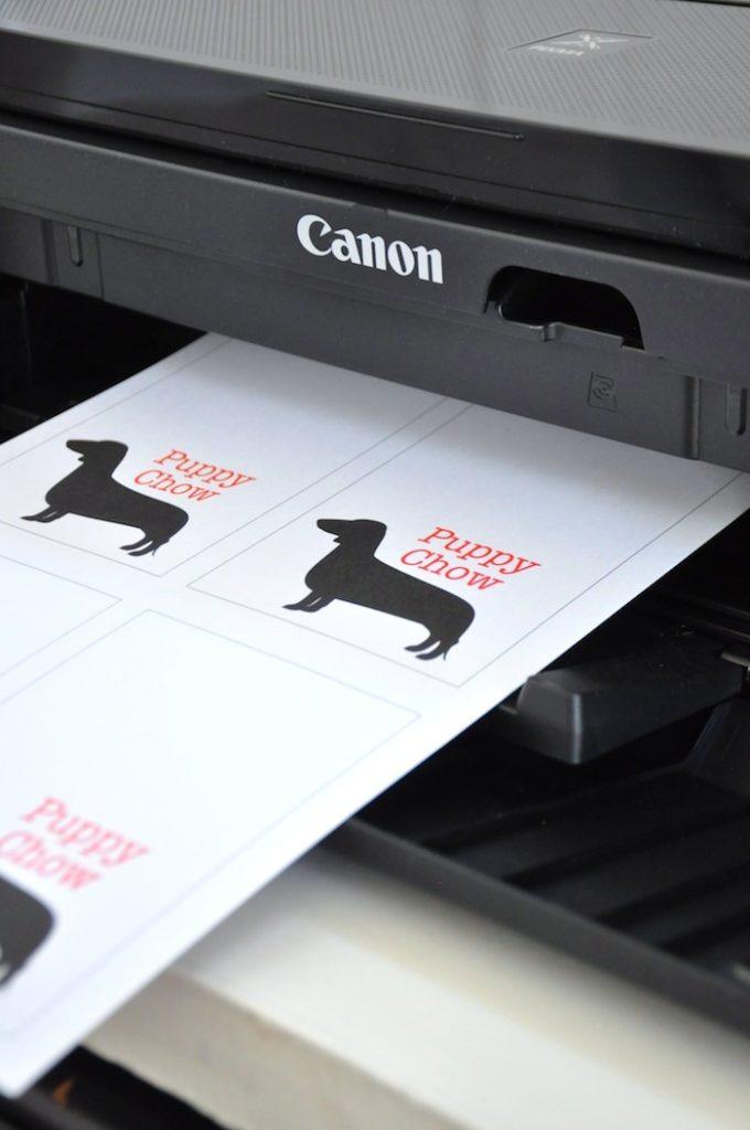 dog printables for bulldog party