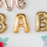 Floral Love Baby Shower on Kara's Party Ideas | KarasPartyIdeas.com (2)