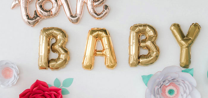 Floral Love Baby Shower on Kara's Party Ideas | KarasPartyIdeas.com (2)