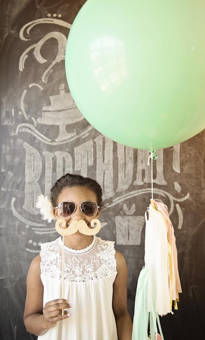 Kara S Party Ideas Girly Glam Photo Booth Birthday Party