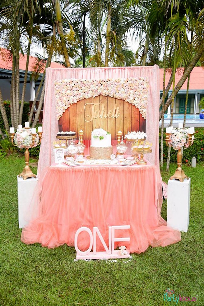 Lace, Pearls and All Things Pretty Birthday Party on Kara's Party Ideas | KarasPartyIdeas.com (6)