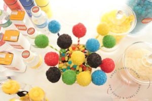 Colorful cake pops from a Lego Birthday Party on Kara's Party Ideas | KarasPartyIdeas.com (5)