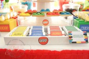 Lego chocolate bars from a Lego Birthday Party on Kara's Party Ideas | KarasPartyIdeas.com (13)