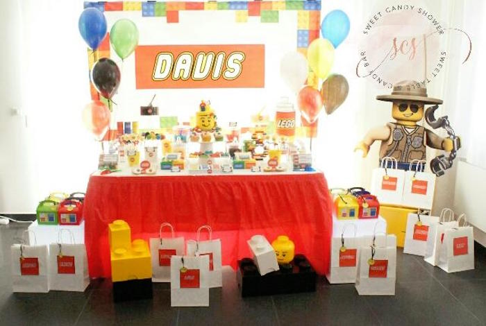 Lego Birthday Party on Kara's Party Ideas | KarasPartyIdeas.com (9)