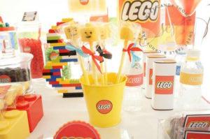 Lego face cake pops from a Lego Birthday Party on Kara's Party Ideas | KarasPartyIdeas.com (6)