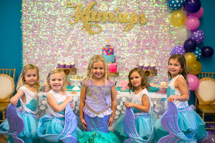 Magical Mermaid Birthday Party on Kara's Party Ideas | KarasPartyIdeas.com (24)