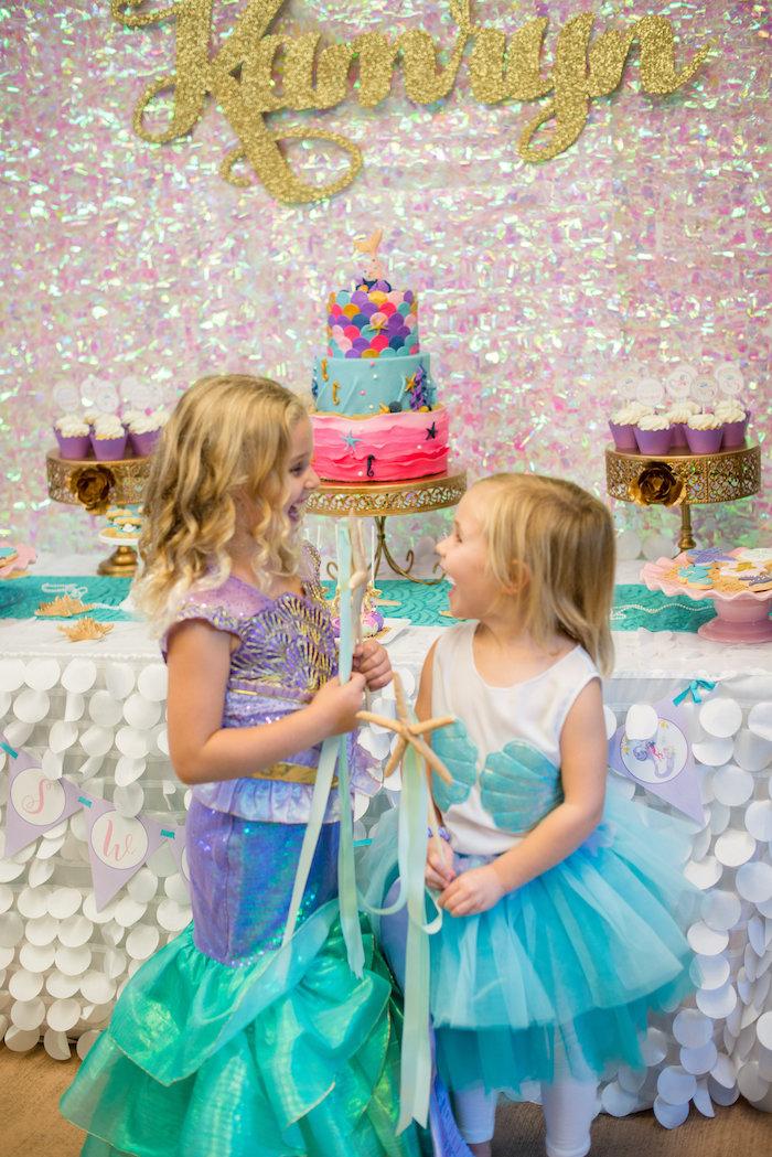 Magical Mermaid Birthday Party on Kara's Party Ideas | KarasPartyIdeas.com (22)