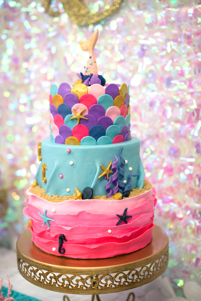 Karas Party Ideas Magical Mermaid Birthday Party Karas Party Ideas