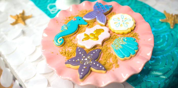 Magical Mermaid Birthday Party on Kara's Party Ideas | KarasPartyIdeas.com (2)