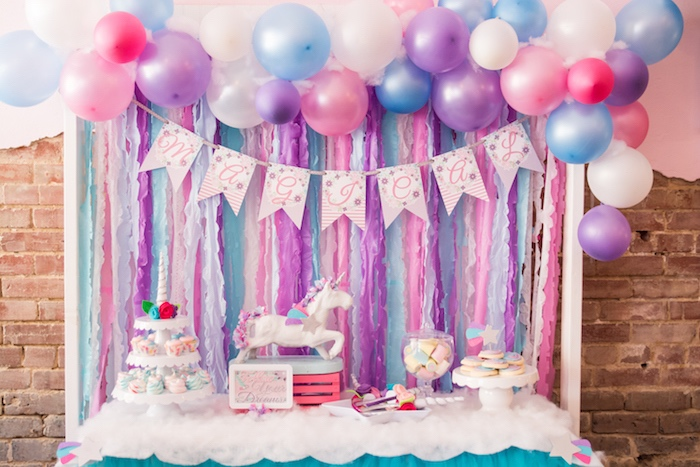 Kara S Party Ideas 187 Unicorn Dessert Table From A Magical