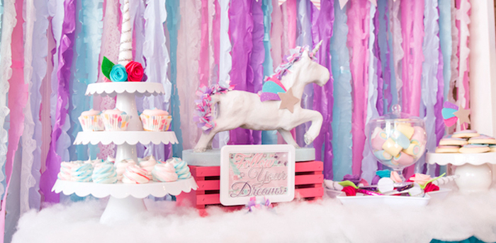 Kara S Party Ideas Magical Unicorn Party Kara S Party Ideas