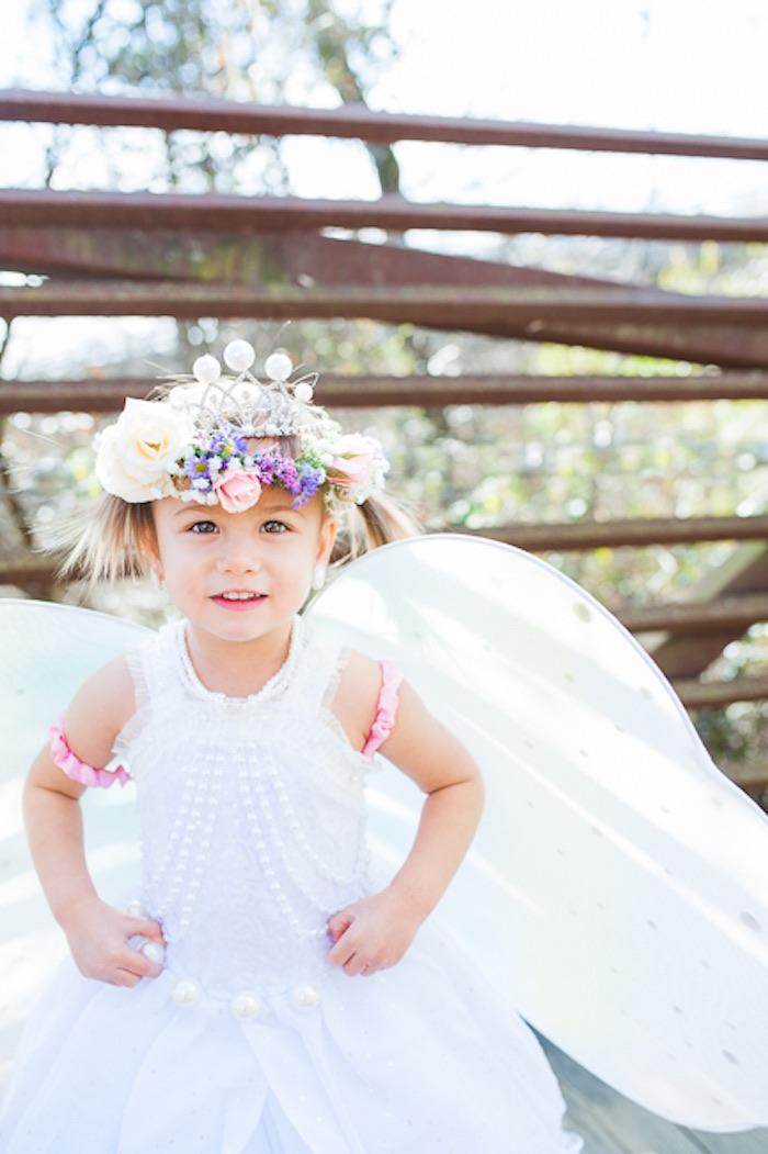 Fairy from a Magical Unicorns, Fairies & Rainbows Birthday Party on Kara's Party Ideas | KarasPartyIdeas.com (23)
