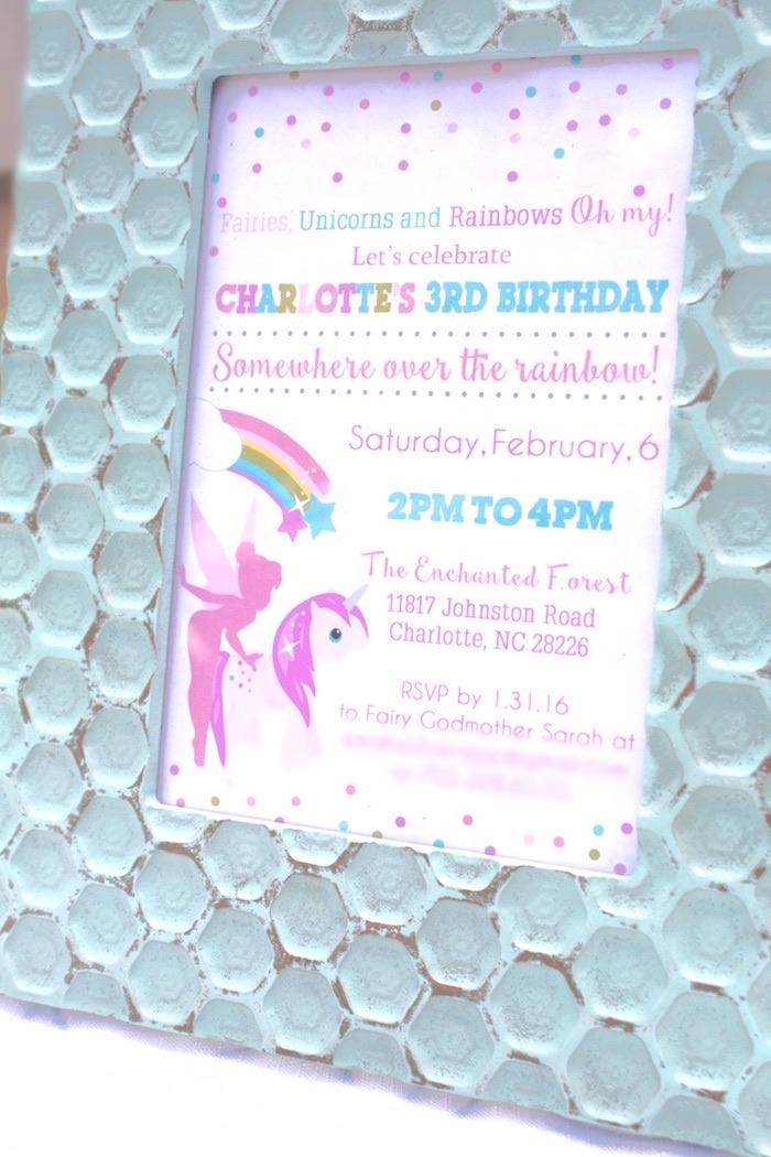 Kara\'s Party Ideas Magical Unicorns, Fairies & Rainbows Birthday ...