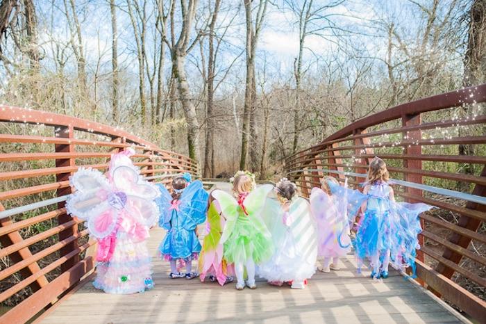 Fairies from a Magical Unicorns, Fairies & Rainbows Birthday Party on Kara's Party Ideas | KarasPartyIdeas.com (12)