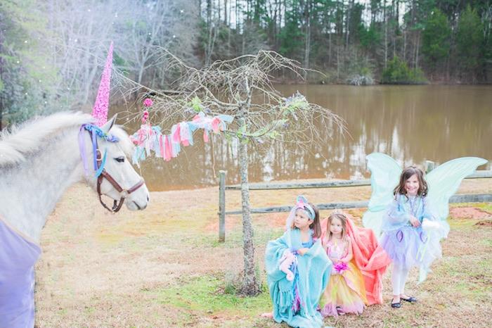 Magical Unicorns, Fairies & Rainbows Birthday Party on Kara's Party Ideas | KarasPartyIdeas.com (7)