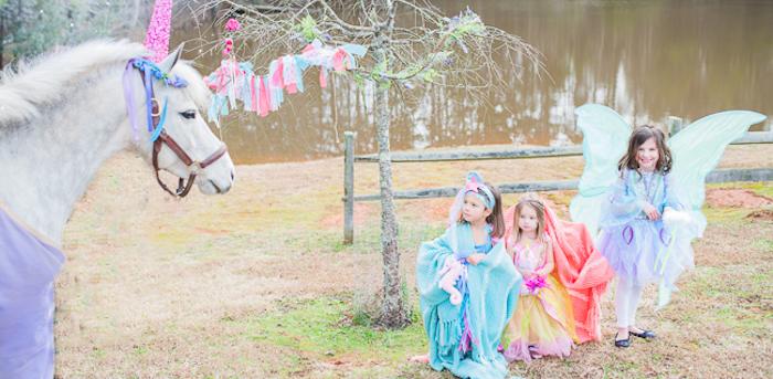 Magical Unicorns, Fairies & Rainbows Birthday Party on Kara's Party Ideas   KarasPartyIdeas.com (2)