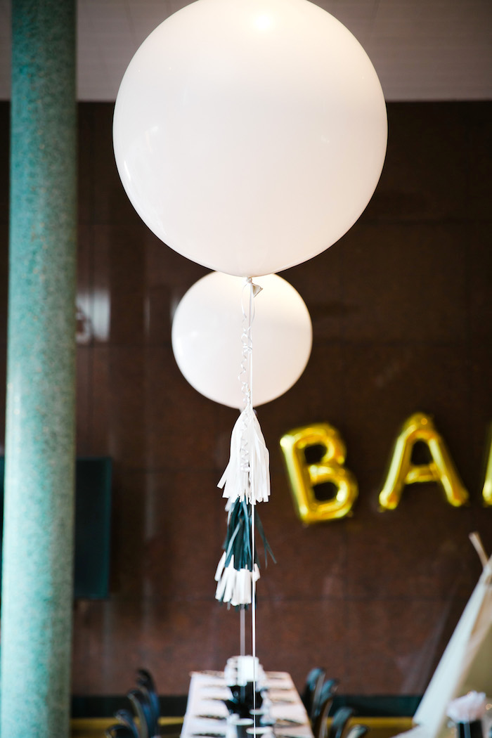 Kara s party ideas modern chic baby shower