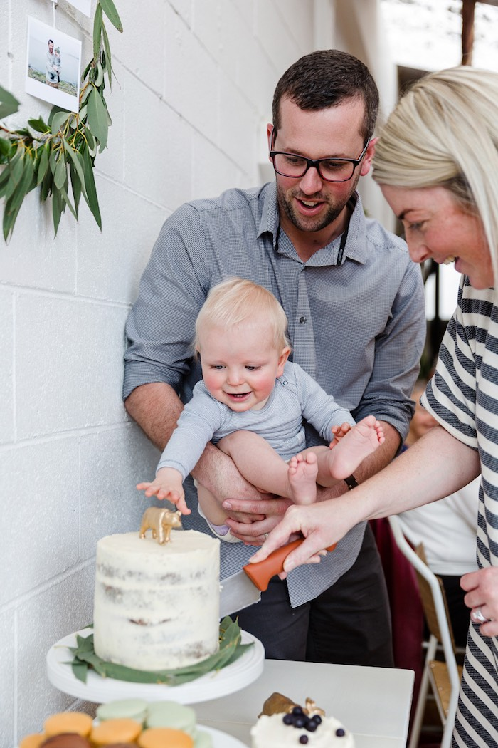 Modern + Rustic 1st Birthday Party on Kara's Party Ideas | KarasPartyIdeas.com (11)