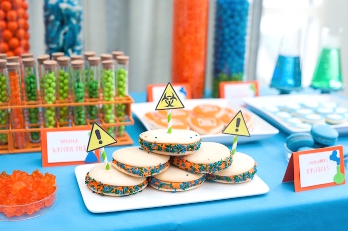 Modern Science Birthday Party