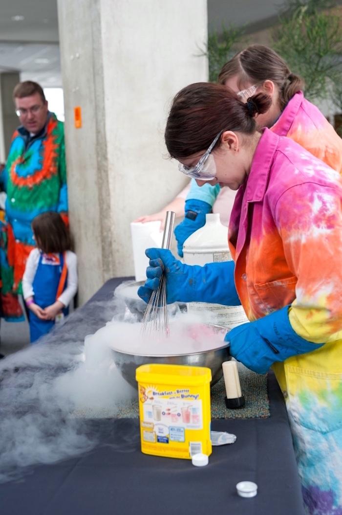Modern Science Birthday Party on Kara's Party Ideas | KarasPartyIdeas.com (5)