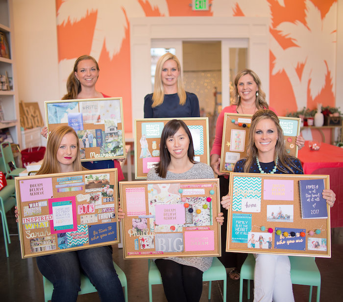 New Year Dream Board Crafting Party on Kara's Party Ideas | KarasPartyIdeas.com (6)
