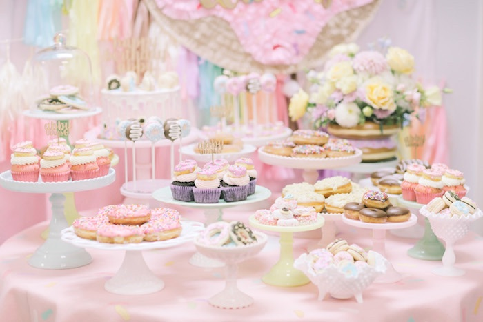 Pastel Donut Birthday Party on Kara's Party Ideas | KarasPartyIdeas.com (8)