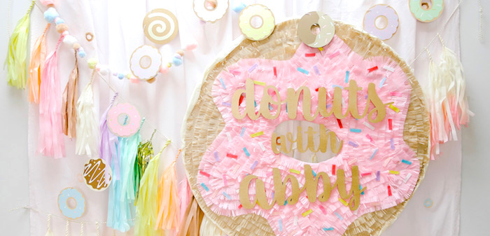 Pastel Donut Birthday Party on Kara's Party Ideas | KarasPartyIdeas.com (1)