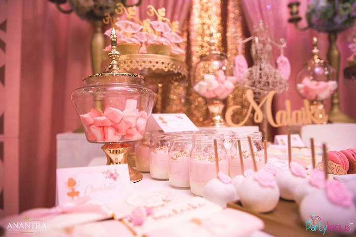Sweets from a Pink Ballerina Birthday Party on Kara's Party Ideas | KarasPartyIdeas.com (38)
