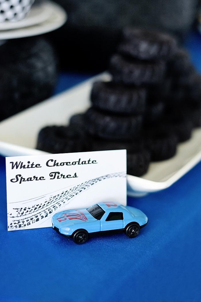 Race car sweet label from a Race Car Birthday Party on Kara's Party Ideas | KarasPartyIdeas.com (44)