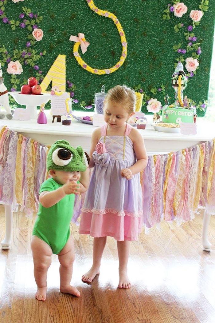 Rapunzel Birthday Party on Kara's Party Ideas | KarasPartyIdeas.com (21)