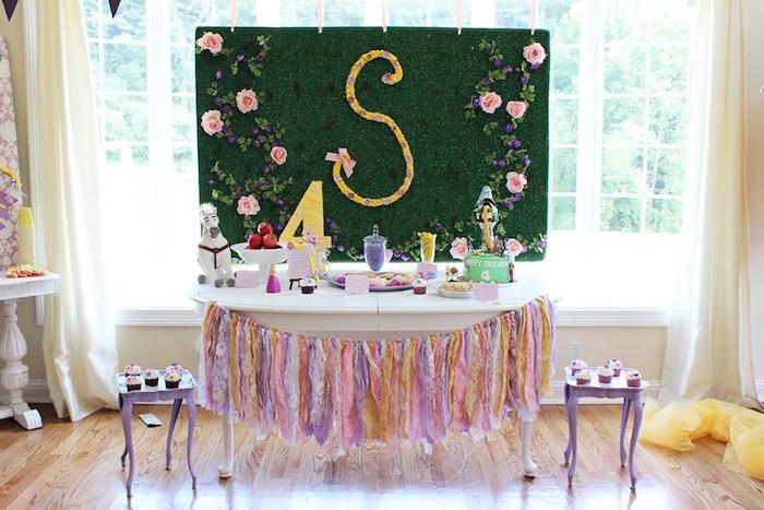 Rapunzel Birthday Party on Kara's Party Ideas | KarasPartyIdeas.com (11)