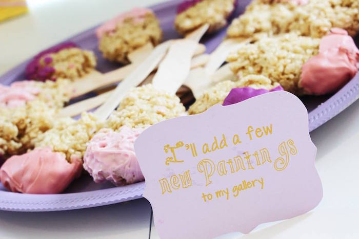 Sweet label from a Rapunzel Birthday Party on Kara's Party Ideas | KarasPartyIdeas.com (6)