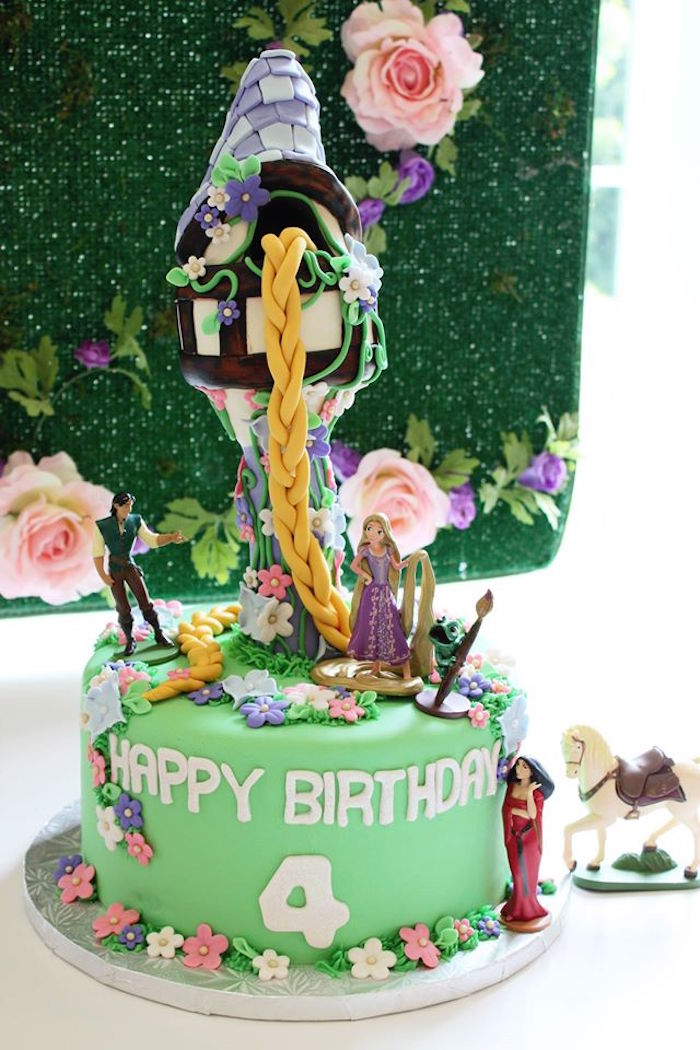 Karas Party Ideas Rapunzel Birthday Party Karas Party Ideas