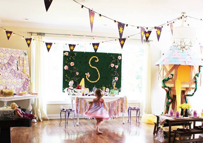 Rapunzel Birthday Party on Kara's Party Ideas | KarasPartyIdeas.com (3)