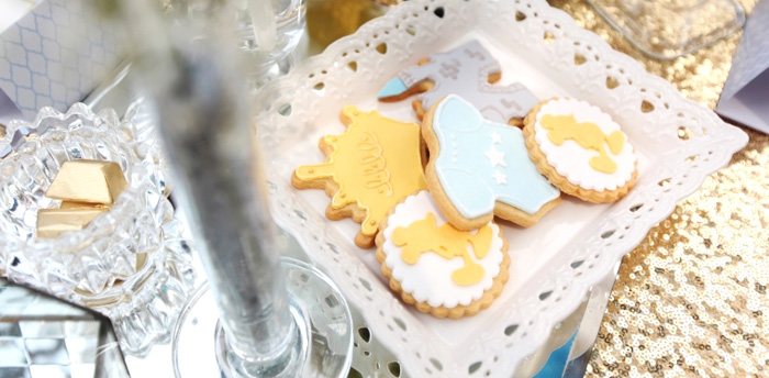 Royal Mickey Mouse Baby Shower on Kara's Party Ideas | KarasPartyIdeas.com (2)