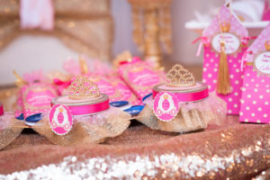 Princess favor jars from a Royal Princess Baby Shower on Kara's Party Ideas | KarasPartyIdeas.com (9)
