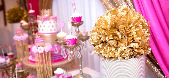 Kara S Party Ideas Royal Princess Baby Shower Kara S Party Ideas