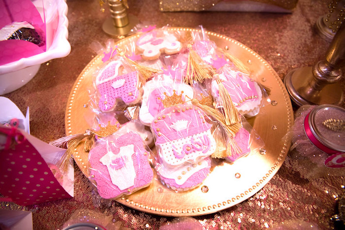 Cookies from a Royal Princess Baby Shower on Kara's Party Ideas | KarasPartyIdeas.com (21)