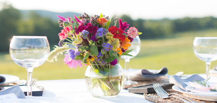 Rustic, Elegant Farm-to-Table Party on Kara's Party Ideas | KarasPartyIdeas.com (1)